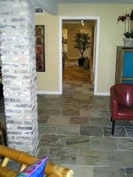 Shocking Slate Floors In Living Room After Flooring Picture Inspirations