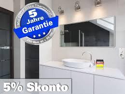 infrarot bad spiegelheizung mit thermostat 250 watt 90x35 m10 sl