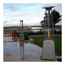 Pyramid Patio Heater Glass Tube by Az Patio Heaters Commercial Glass Tube 38 000 Btu Propane Patio