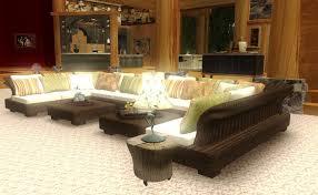 Texas Rustic Living Room Furniture