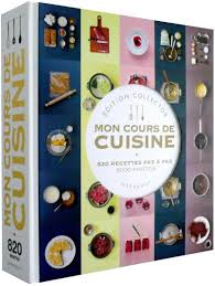 cuisine du monde marabout mon grand cours de cuisine collector edition collector broché