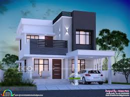 100 Modern House 3 1645 Square Feet Bedroom Modern House Plan Kerala Home