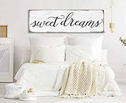 ced454sy geschenk 15 x 50 cm sweet dreams schlafzimmerschild auf leinwand landhaus dekoration inspirierende wandkunst