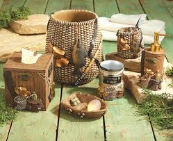 Bathroom Sets Collections Target by Impressive Inspiration Rustic Bathroom Set Moose Bear Accessories