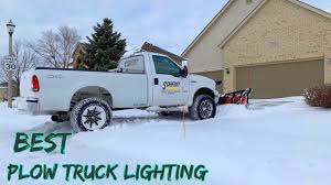 100 Best Plow Truck The Lighting Setup Review Reverse Pro LED Lighting