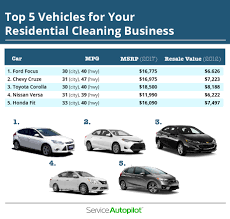 What Is The Best Vehicle For Your House Cleaning Company?