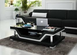 design glastisch leder tisch tische glas sofa wohnzimmertische neu sofort