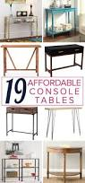 Lack Sofa Table As Desk by Affordable Console Tables You Will Love Designer Trapped In A