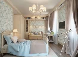 BedroomCute Girls Blue Bedroom Decorating Ideas With White Scraft Also Painted Wall Plus