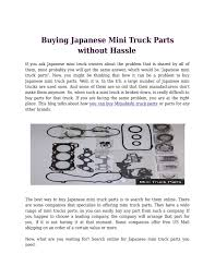 Buying Japanese Mini Truck Parts Without Hassle By Alice Wilson ... Mitsubishi Minicab Parts By Minitruckparts Issuu Get High Quality Japanese Mini Truck Online Dealing In Used Japanese Mini Trucks Ulmer Farm Service Llc New Truck Parts Daihatsu Honda Suzuki Mazda Cargo Delivery Van 2001 Minicab Townbox 2008 Carry On Tracks Craigslist Adrenaline Capsules Mactown 4x4 Kei 4wd Atv Off Japan Youtube Anyone Into Got Me A New Hunting Wagon Four Sons Offroad Inc Buying Without Hassle Alice Wilson Containers Whosale From