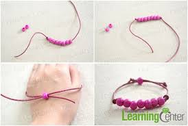 Easter Jewelry Craft Ideas Making Leather Cord Bracelet