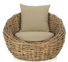 fauteuil en rotin lena prix promo alinea 269 00 ttc meubles