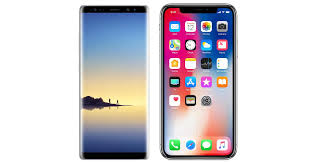 iPhone X vs Galaxy Note 8 paring features
