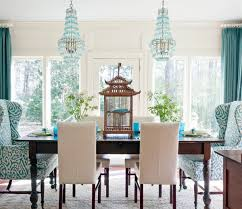 sanela curtains turquoise shop the look the turquoise dining room