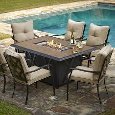 grand resort wildwood 7pc lp fire dining set limited