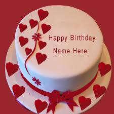 birthday cake for my girlfriend with name edit birthday cake name editing free