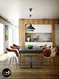 Brown-leather-dining-chairs | Interior Design Ideas.