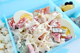 Kids Lunchbox Idea Pasta Salad 4