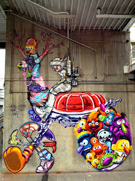 Denver International Airport Murals Painted Over by Found Under An Overpass In Denver Art Street Art Pinterest