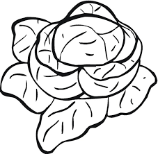 Vegetable Coloring Pages 9
