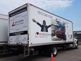 100 Truck Advertising Ajax Pickering Board Of Trade Transport In