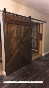 Barn Doors & Baby Gates, | The Rustic House Baby Gate With A Rustic Flair Weeds Barn Door Babydog Simplykierstecom Diy Pet Itructions Wooden Gates Sliding Doors Ideas Asusparapc The Sunset Lane Barn Door Baby Gate Reclaimed Woodbarn Rockin The Dots How To Make 25 Diy 1000 About Ba Stairs On Pinterest Stair Image Result For House
