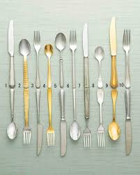 19 Favorite Flatware Picks For Every Day And Beyond | Martha ... Storage Bins Pottery Barn Metal Canvas Food Gold Flatware Set Cbaarchcom Ikea Mobileflipinfo Setting A Christmas Table With Reindeer Plates Best 25 Rustic Flatware Ideas On Pinterest White Cutlery Set Caroline Silver20 Piece Service For The One With The Catalog And Winner Yellow Woodland Fall By Spode Fall Smakglad 20piece Ikea Ideas For Easter Brunch Fashionable Hostess