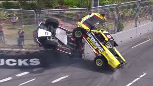 WATCH: Huge Crash In Gold Coast Race | Other Sports | Sporting News Super Stadium Truck Sst Supercheap Auto Blog Trucks Alaide 500 Are Like Mini Trophy And They Racing Speed Energy Series St Louis Missouri Introducing What The Checkered Flag Spectacular To Roar At Castrol Edge Townsville Bittntsponsored Female Racer Rocks In Toronto Matt Mingay Roll Over Crash Clipsal 2016 Stadium Super Trucks Geddit Offroad Cartel Speed Presented By Traxxas Set Kick