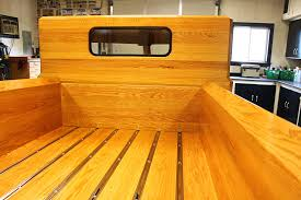 100 Wood Truck Beds Custom Built All Ford Pickup