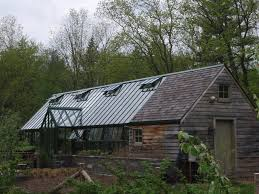 Sturdi Built Sheds Rochester Ny by Awesome English Greenhouse On A Stone Base With Barn Shed Attached