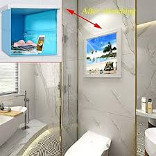 xxz faltbares wandbild badezimmer aufbewahrungsbox