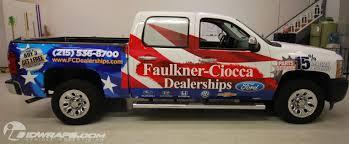 100 Chevy Silverado Truck Parts Delivery FaulknerCiocca 3M Vinyl Pickup