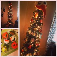 Miami Hurricanes Christmas Tree Ibis Topper And Handmade Ornaments