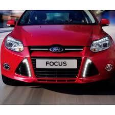 led car daytime running light for ford focus fog l drl 2011