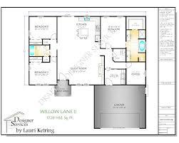 100 The Willow House Plan Lane II Etsy