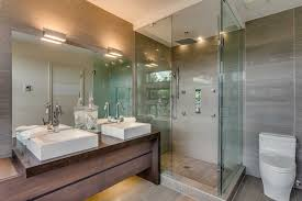 modern bathroom lighting industrial with for bathrooms