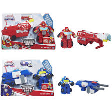 100 Rescue Bots Fire Truck Playskool Heroes Transformers Heat Wave BotCapture Claw Chase