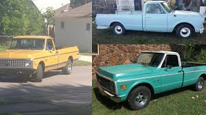 Three Older Model Trucks Stolen