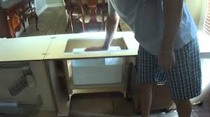 Koala Sewing Cabinet Inserts by Koala Outback Plus Sewing Center Youtube