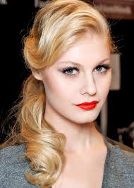Retro Ponytail Hairstyle 2016