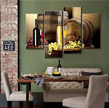 Canvas Wall Art For Dining Room by Grape And Wine Canvas Wall Art Framed Wine Canvas Print Art For