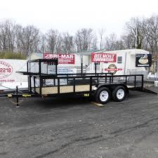 Big Tex 7 X 16 Tandem Axle Landscape Trailer W Mesh Sides Box