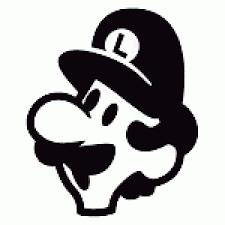 Mario Pumpkin Carving Templates by 25fts Luigi