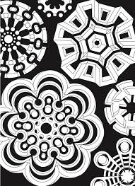 Creative Haven Infinite Illusions Coloring Book Eye Popping Designs On A Dramatic Black Backgroundications