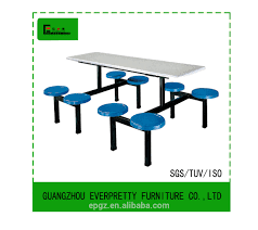 8 Person Outdoor Table by Fiber Glass Canteen Table With 8 Round Chairs 8 Person Fiberglass