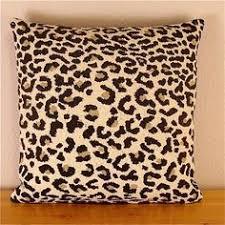 Pink Cheetah Print Bathroom Set by Blue Gold Leopard Print Hand Block Printed Linen Decorative