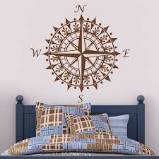 Wall Mural Decals Amazon by Amazon Com Compass Wall Decal Vinyl Compass Wall Sticker Compass