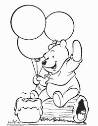 Winnie The Pooh Coloring Pages To Print
