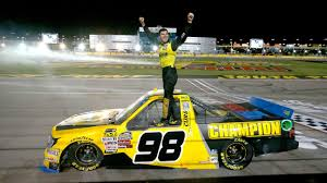 Grant Enfinger Wins NASCAR Truck Race In Las Vegas As Brett Moffit ...