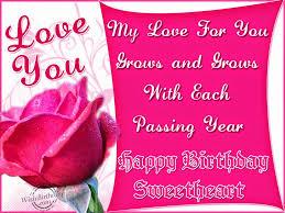 Birthday Wishes Husband  Birthday Wishes